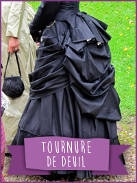 Robe de deuil / Mourning Gown