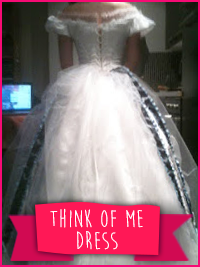 Think of Me Dress (Phantom of the Opera)